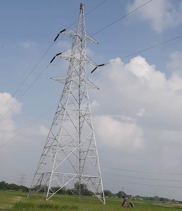 Transmission Line project, Uttar Pradesh, India