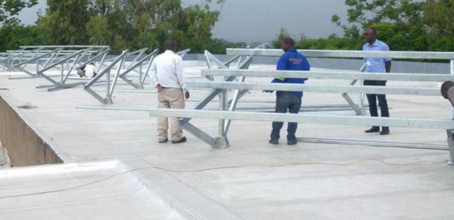Design, Supply, Installation & Commissioning of 2 x 25KW Grid Connected Solar Power plant at Parliament Building & ZESCO Head-Office